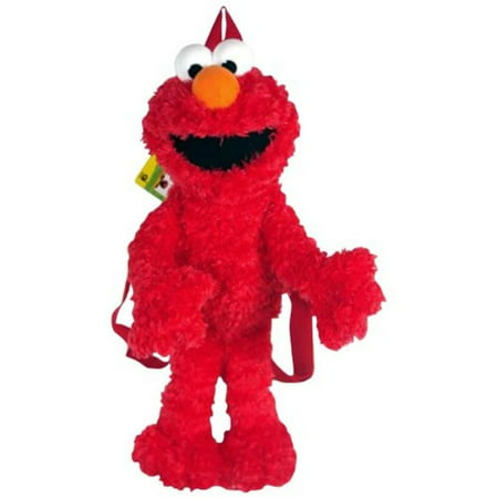 - Sesame Street Elmo Plush Doll Backpack Bag 15 inches