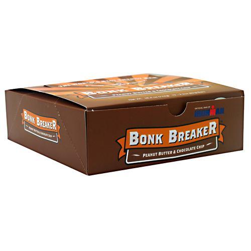 Bonk Breaker Energy Bar Peanut Butter & Chocolate Chip - 12 per Box - 2.2 oz