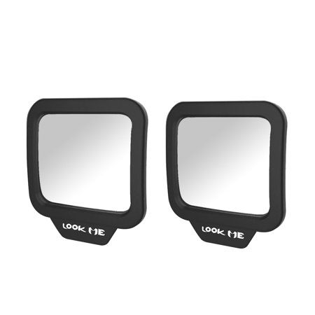 2pcs 270° Car Rear Seat View Mirror Adjustable Backseats Baby Child Safety Mirrors With Sucker Universal Interior Viewer Rearview Mirror (Package 2)