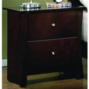 Nightstand in Expresso Finish