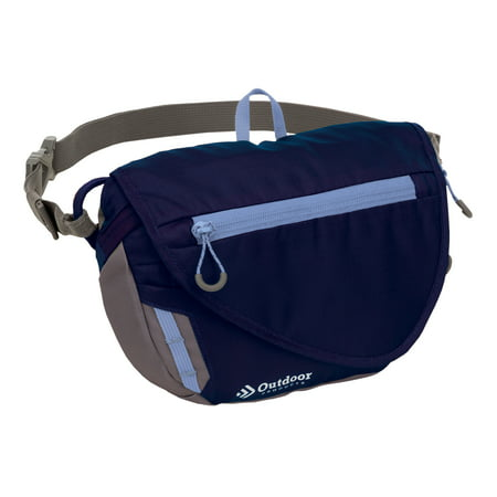 Outdoor Products Marilyn Waistpack Fanny Pack Shoulder Bag Sling, Purple (Customizable Fanny Packs)