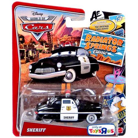 Disney Cars Radiator Springs Classic Sheriff Diecast Car Walmart Com