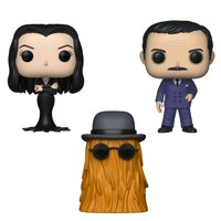 Funko POP! TV The Addams Family: Morticia, Gomez (Possible Limited Chase Edition) and Cousin Itt (Collectors Set 1), Vinyl Figures