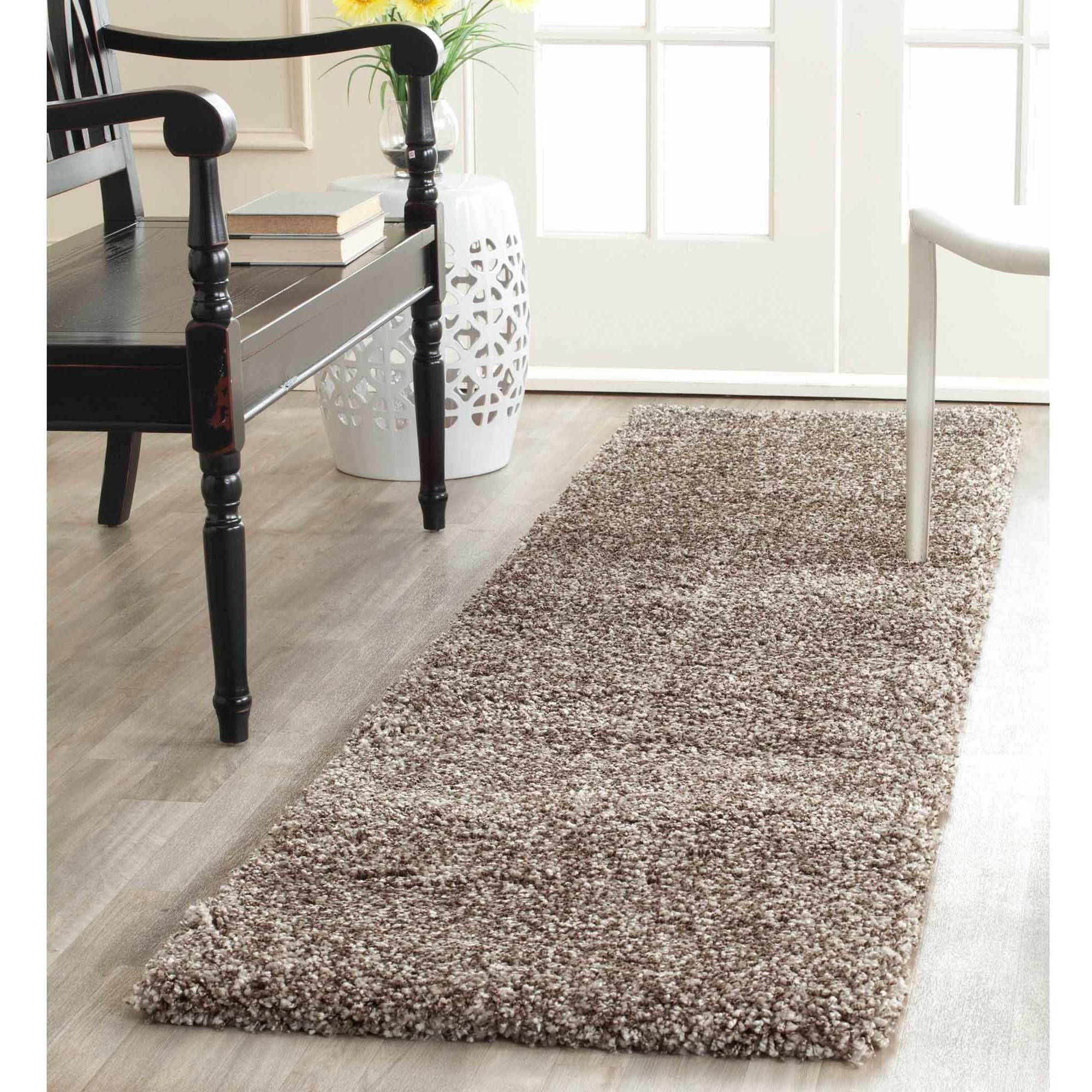 safavieh harlow power loomed milan shag area rug or runner - Safavieh Rug