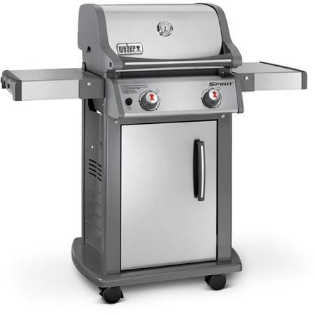 weber spirit s 210 2 burner lp gas grill. Black Bedroom Furniture Sets. Home Design Ideas