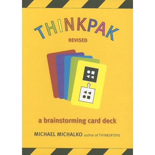 Thinkpak: A Brainstorming Card Deck with Booklet