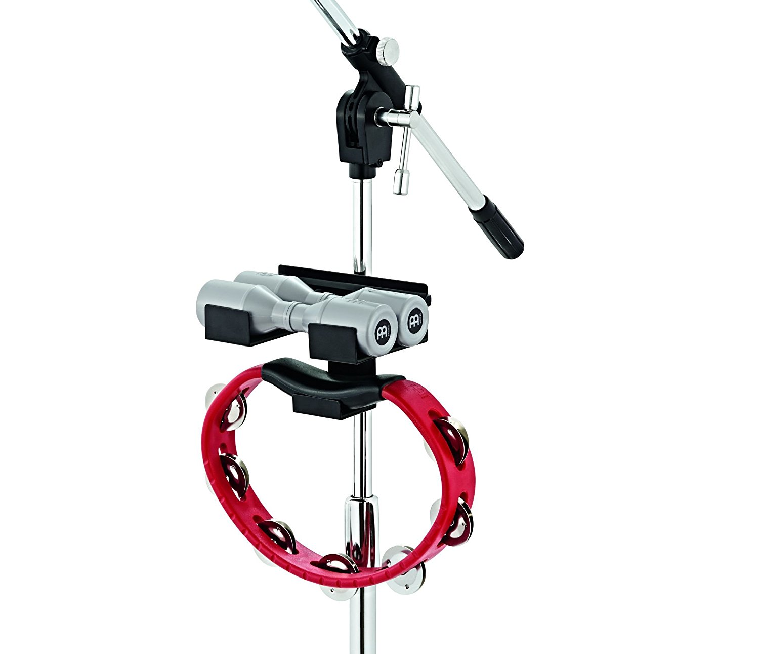 MC-SHTA Mini Percussion Rack for Mic Stands, Holds tambourines and shakers close by on any... by
