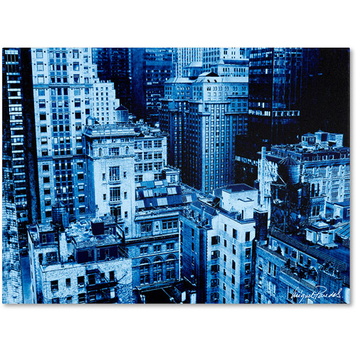 "Trademark Fine Art ""Upper West Side"" Canvas Art by Miguel Paredes"
