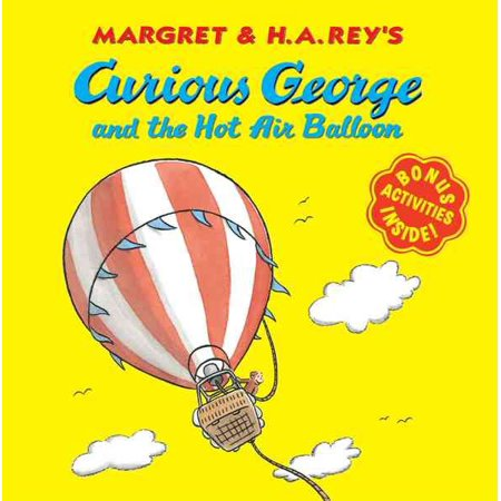 Curious George And The Hot Air Balloon  Paperback