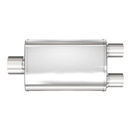 4 x 9 in. XL 3 Natural Chamber Mufflers - Stainless Steel - image 1 de 1