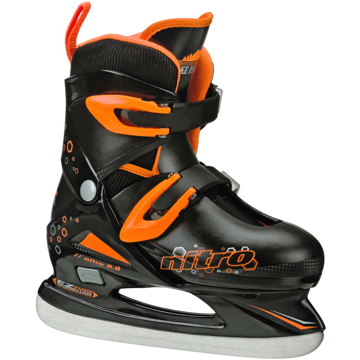 Lake Placid Boy's Nitro 8.8 Boy's Adjustable Figure Ice Skate - LP102B