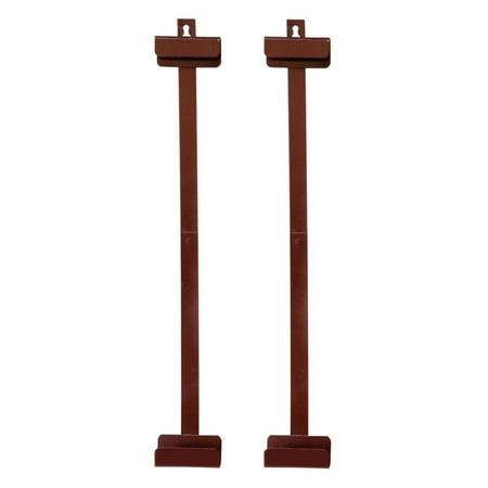 Oriental Furniture Silk Screen Brackets - Rosewood ()