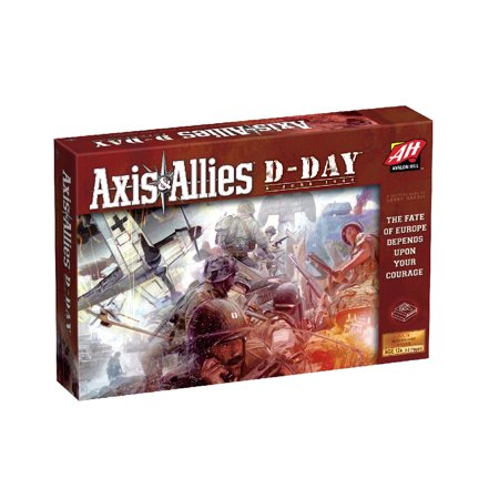 Wizards of the Coast Axis & Allies D-Day Board Game Axis Allies Base Set