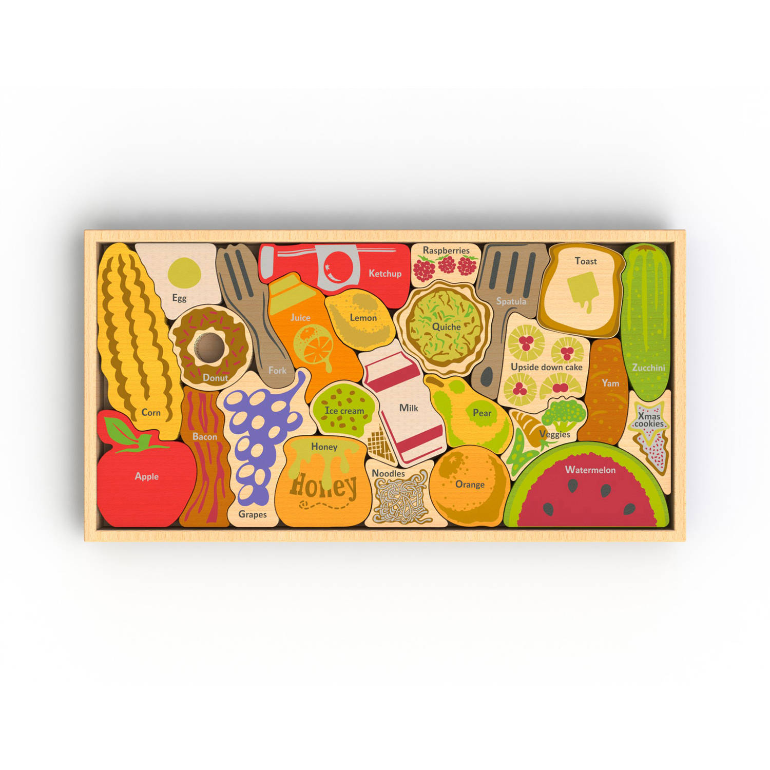 BeginAgain Toys Alphabites A to Z Wooden Puzzle by BeginAgain Toys