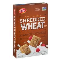 Breakfast Cereal: Shredded Wheat