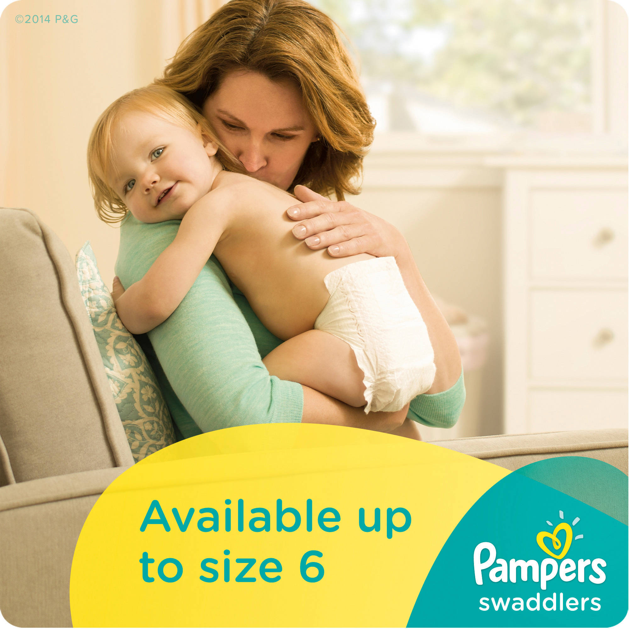 Pampers Swaddlers Diapers, Economy Pack Plus, (Choose Your Size ...