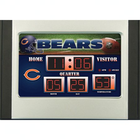 (Team Sports America NFL Scoreboard Desk Clock)