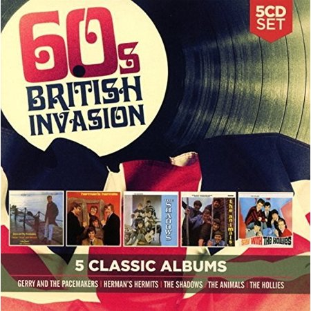 5 Classic Albums: 60s British Invasion / Various (CD) - Cher In The 60s