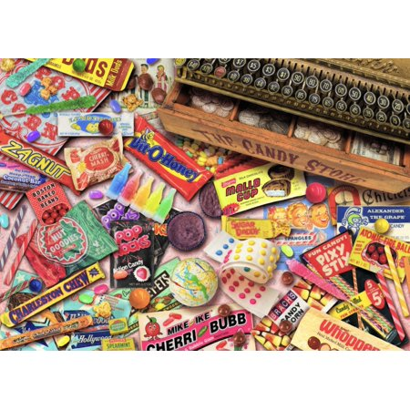 Vintage Candy Shop Poster Print by Aimee Stewart