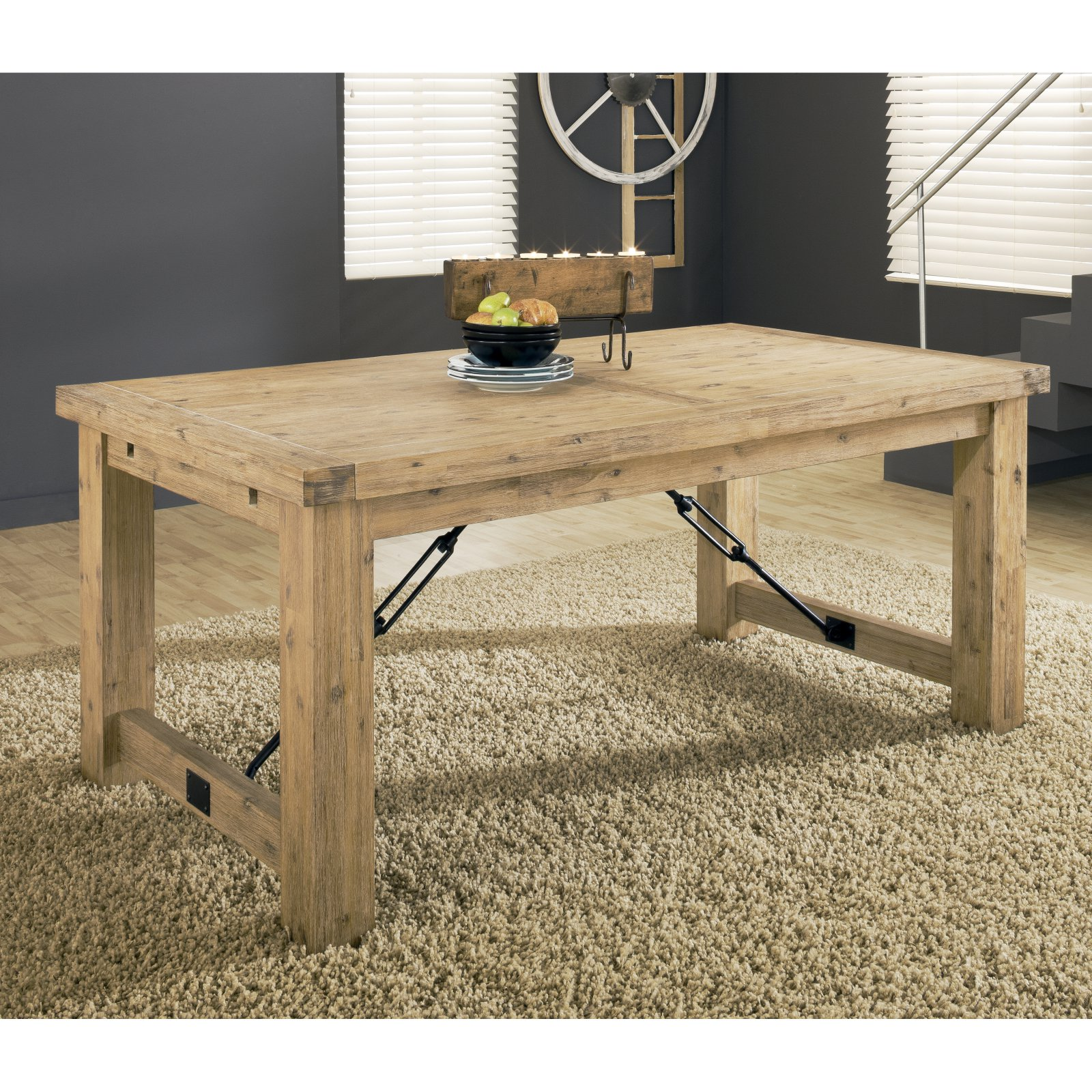 Modus Autumn Solid Wood Extension Table - Cider