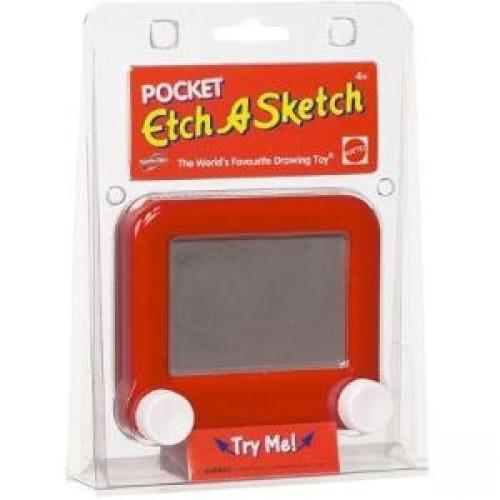 Spin Master Etch A Sketch Pocket - Skill Learning: Creativity, Drawing, Sketching