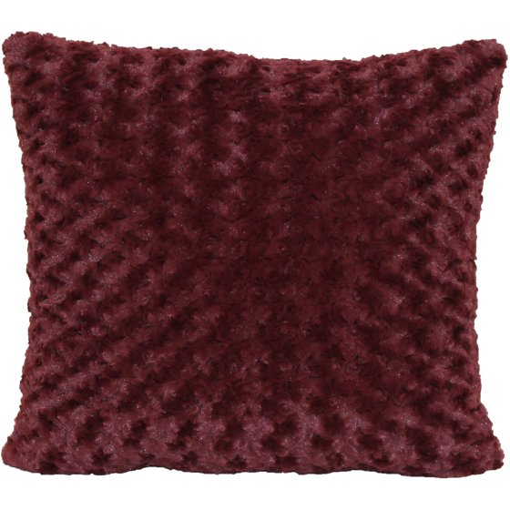 Better Homes And Gardens Rosette Fur Decorative Toss Pillow 40x40 New Better Homes And Gardens Ivory Dot Oblong Decorative Pillow