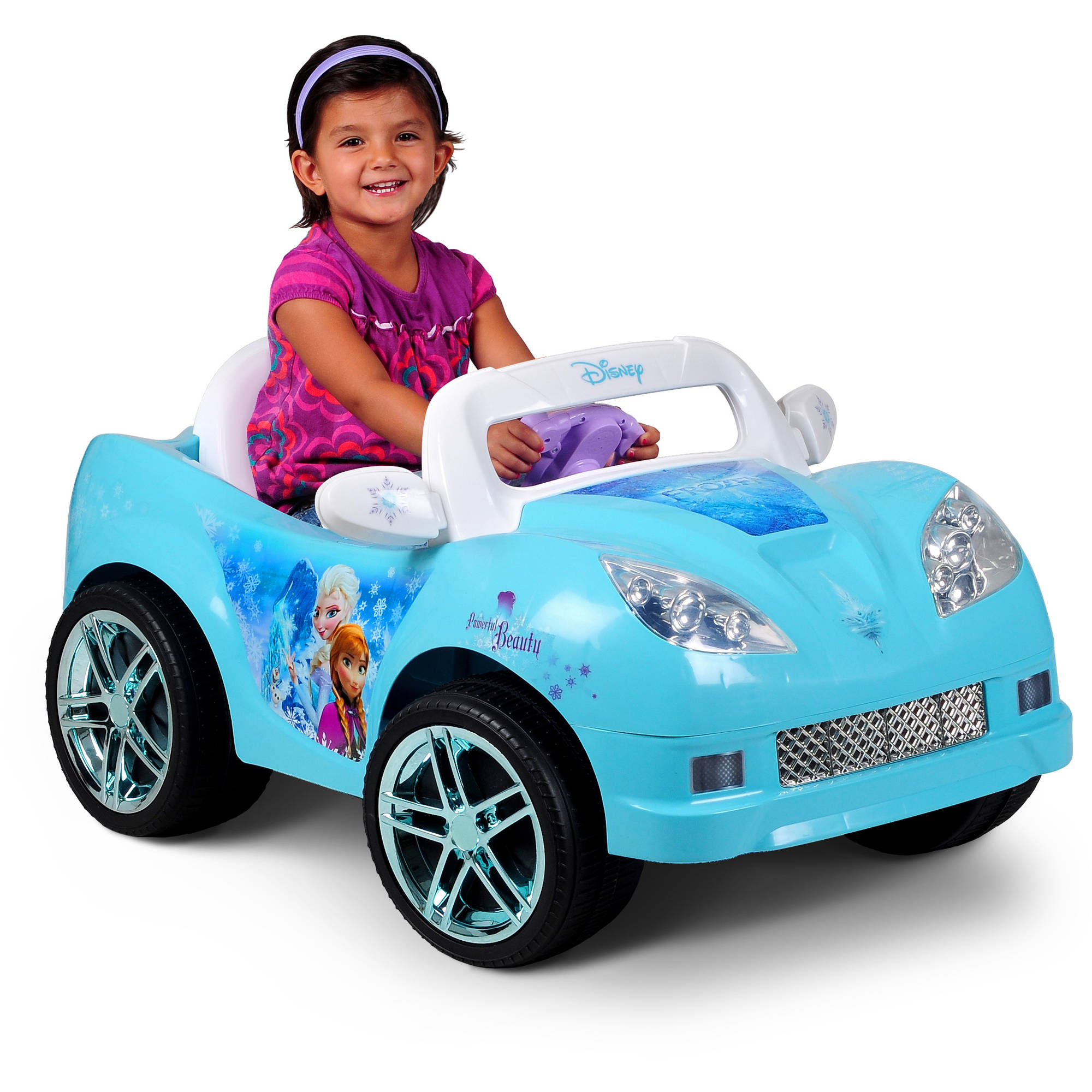 Disney Frozen Convertible Car 6 Volt Battery Ed Ride On