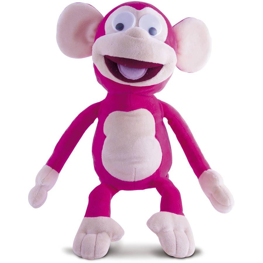 Funny Friends Monkey, Pink