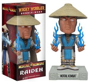 FUNKO INC. Mortal Kombat Wacky Wobbler Raiden Bobble Head