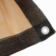 6X20 Foot Tan Shade Net Screen Mesh Netting Tarp 6 X 20 Uv Canopy Sun Cover Sail