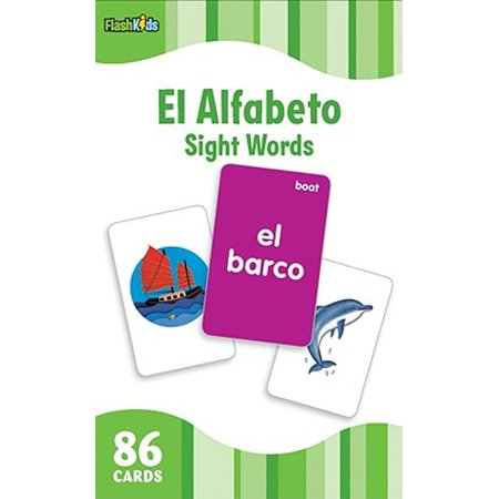 El Alfabeto/The Alphabet (Flash Kids Spanish Flash Cards)