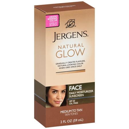 Jergens Natural Glow Face Daily Moisturizer Sunscreen Spf  Walmart