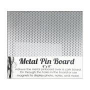 "SPC Magnetic Pin Board 4x4"" Silver"