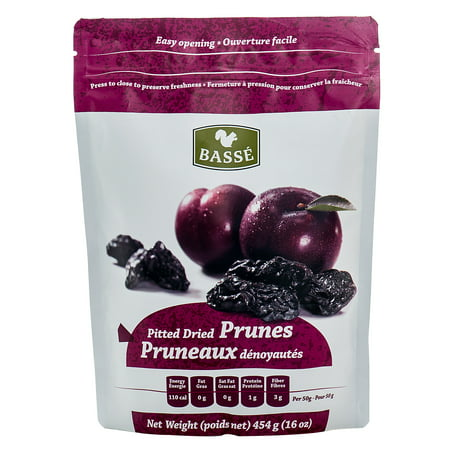 Basse Dried Fruits Pitted Prunes (1lb.) Exceptional Best Foods For Weight Loss Packed With Sweet Weighty (Best Dried Fruit For Iron)