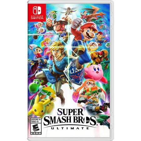 Mom Switch - Super Smash Bros. Ultimate, Nintendo, Nintendo Switch, 045496592998