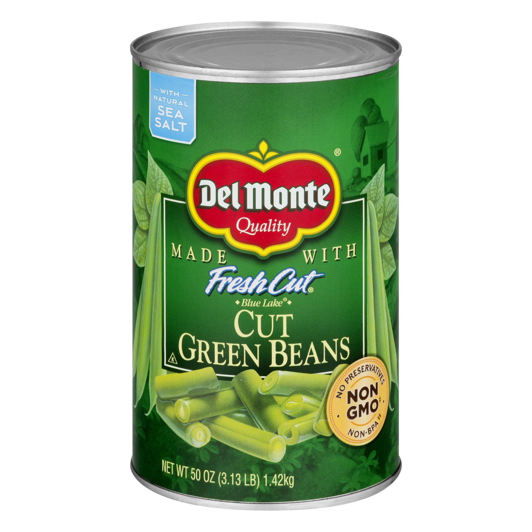 Del Monte Blue Lake Cut Green Beans, 50 Oz