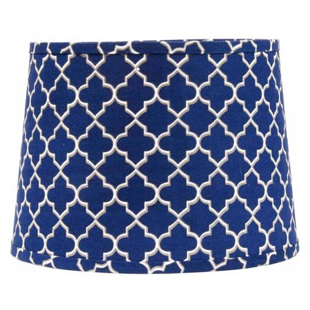 Home Collections by Raghu Quatrefoil Tapered Drum Shade ()