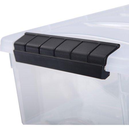 Iris 5 7 Qt Stack And Pull Box 10 Piece Set