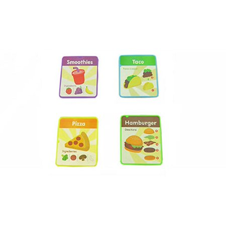 Fisher-Price Laugh & Learn Servin' Up Fun Food Truck-Replacement Menu Cards (Laughing Games)