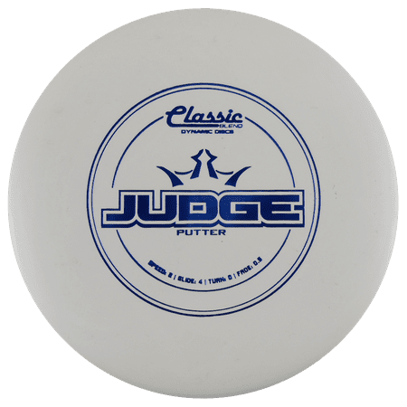 Blend Iron - Dynamic Discs Classic Blend Judge 173-176g Putter Golf Disc [Colors may vary] - 173-176g