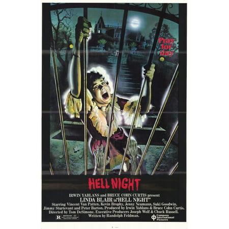 Hell Night (1981) 11x17 Movie Poster