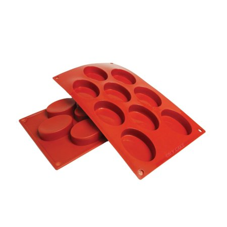 Oval Silicone Baking Mold 1.7 Ounce