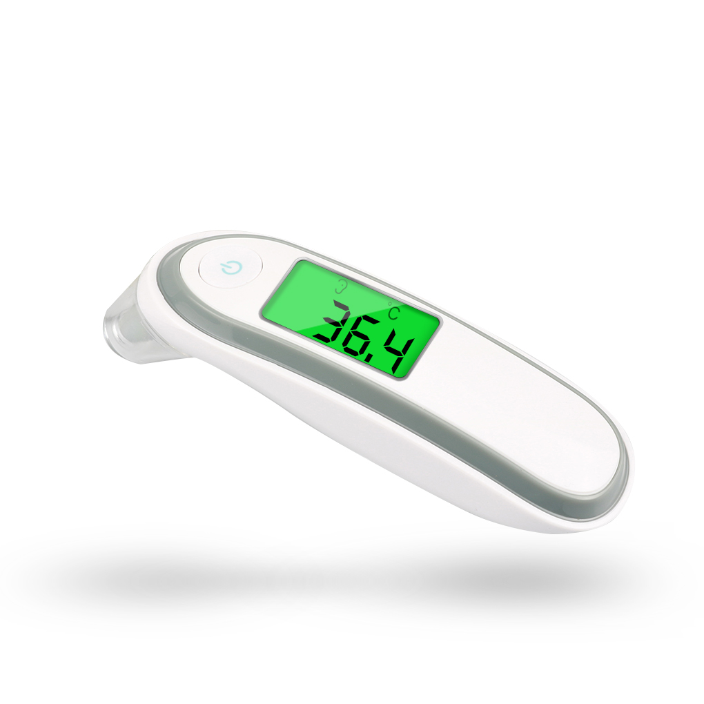 LCD Digital Thermometer Infrared Forehead Ear Temperature Meter Baby Adult Body IR Termometer