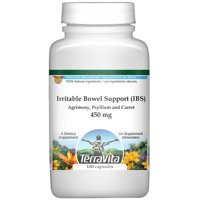 Irritable Bowel Support (IBS) - Agrimony, Psyllium and Carrot - 450 mg (100 capsules, ZIN: 516864)