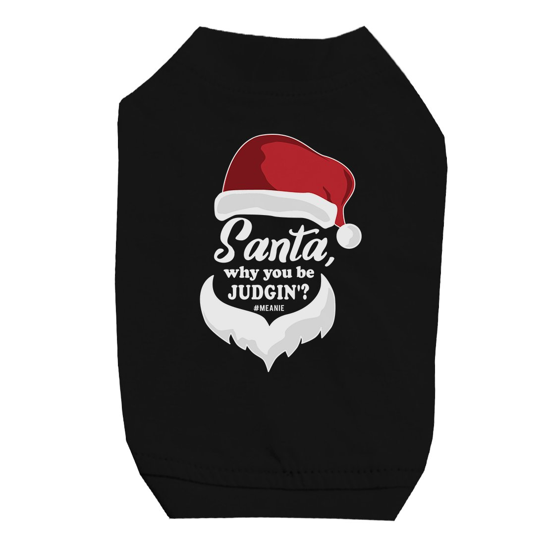 Santa Be Judging Pet Shirt for Small Dogs