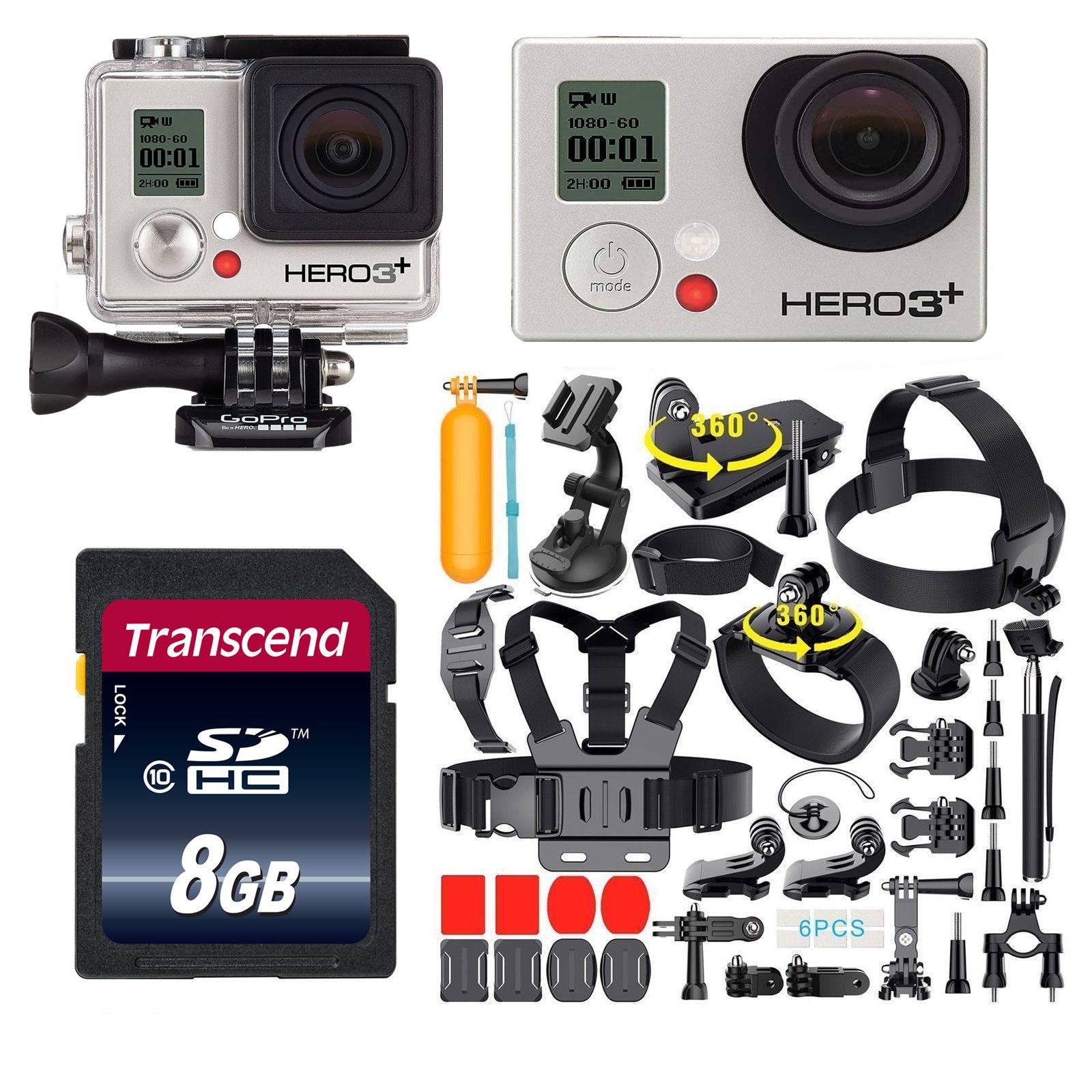 GoPro Hero3+ Black Edition Action Sport 4K Camera