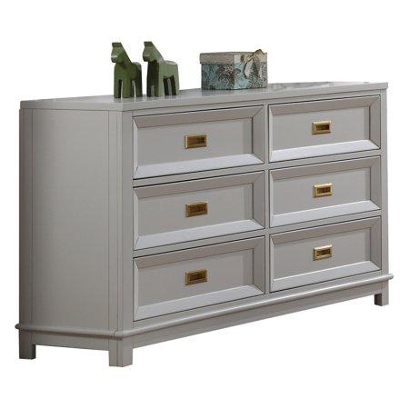 Kb Furniture Campaign 6 Drawer No Tool Embly Bedroom Dresser