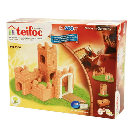 Teifoc Brick & Mortar Castle Building Masonry Kit