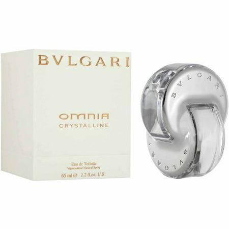 Omnia Crystalline by Bvlgari for women Eau De Toilette Spray, 2.2 fl. (Bvlgari White)