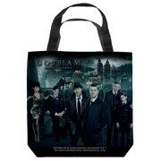 Gotham Gotham Cast Tote Bag White 9X9